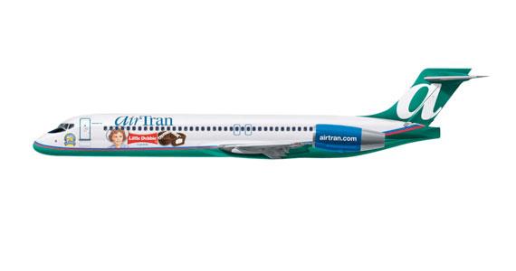 Little Debbie AirTran Jet